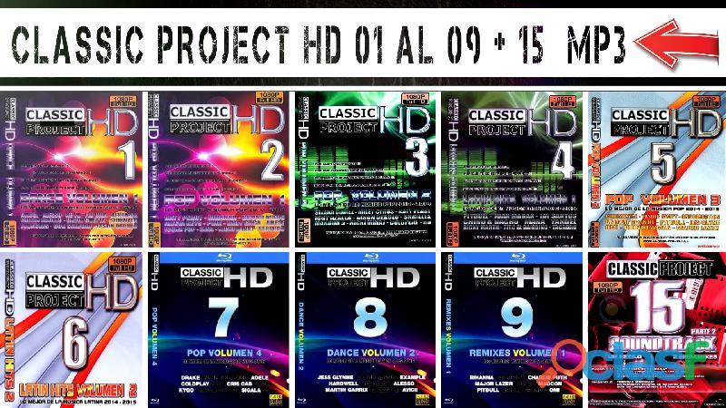 Classic Project Hd 01 Al 09 Mp3 + 02 Mp4 Free...!!! ENVIÓ GRATIS 0