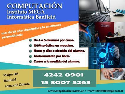 Cursos Computacion Instituto MEGA en Banfield 0