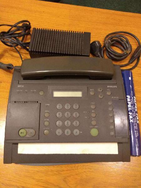 Teléfono Fax Philips Hfc 8 Bien Completo Con Manual 0