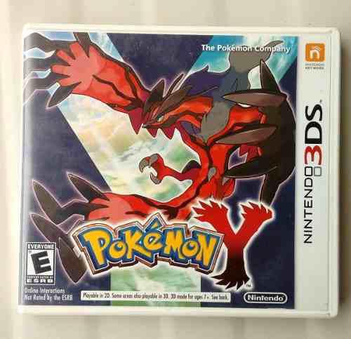 Juego 3ds Pokemon Y Usado Americano 0
