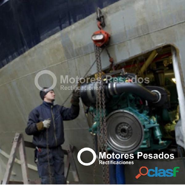 Reparación integral de motores Marinos 1