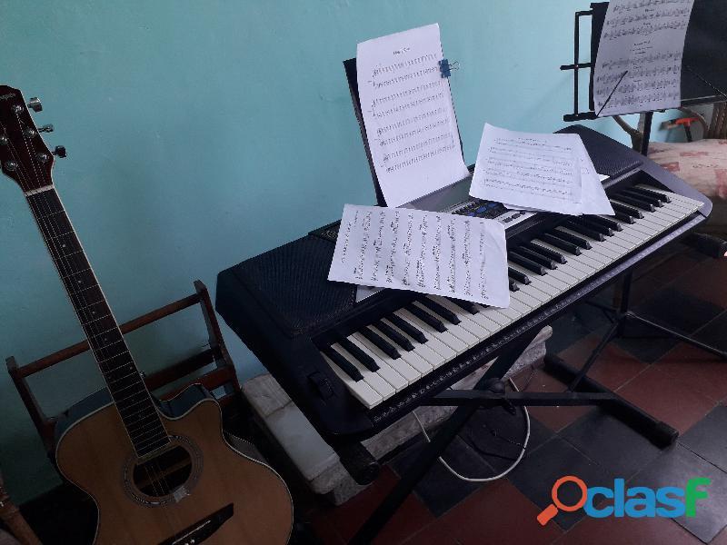 CLASES DE TECLADO O GUITARRA PARA PRINCIPIANTES 0