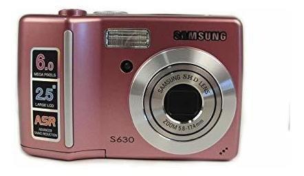 Cámara Fotográfica Samsung Rosa S630 0