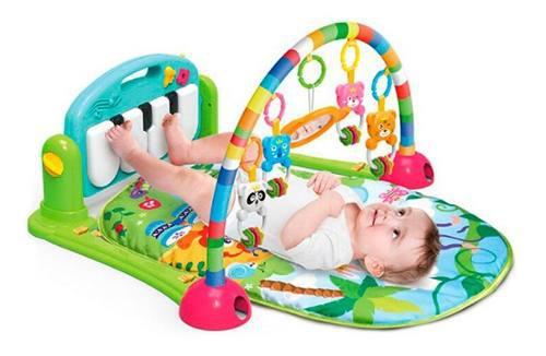 Gimnasio Piano Manta Con Sonajeros Para Bebe 0