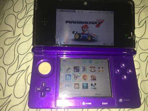 Nintendo 3ds Flasheada Con Juegos Instalados 0