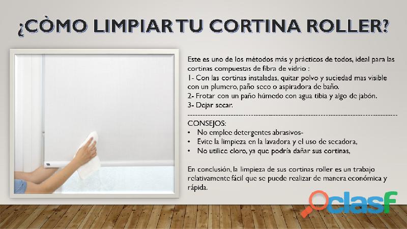 Cortinas Roller Black Out Premium 0