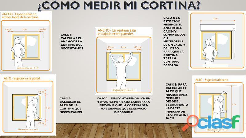 Cortinas Roller Black Out Premium 2