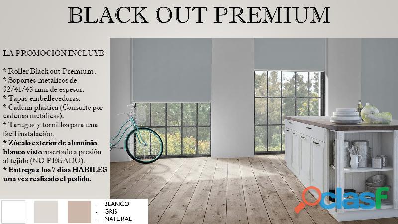 Cortinas Roller Black Out Premium 1