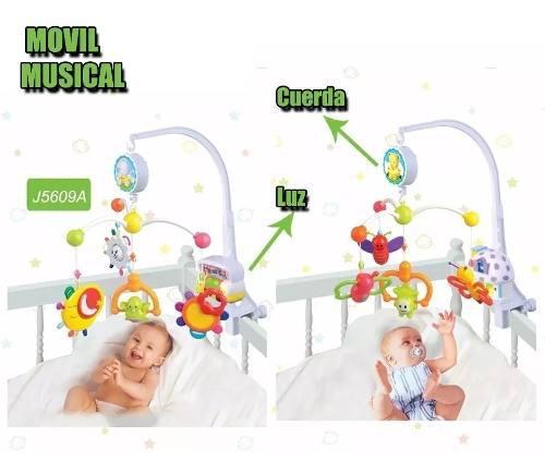 Móvil Cunero Musical Con Luz Y Musica Infantoys A Cuerda 0