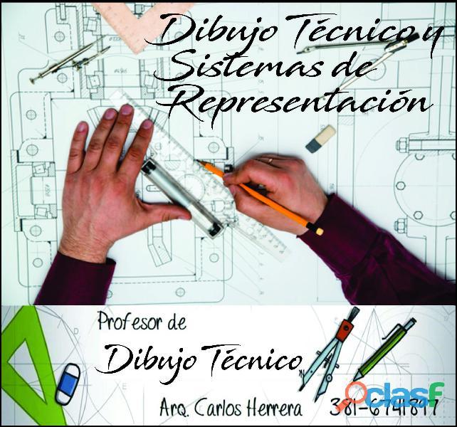 Clases de apoyo en dibujo técnico en Tucumán 0