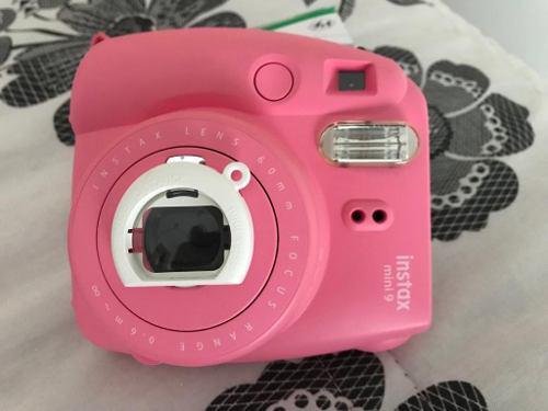 Camara De Foto Instantanea Instax Mini 9 Fujufilm Impecable 0