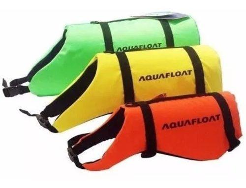 Chaleco Salvavidas Para Perros Aquafloat 3 Correas Colores 0