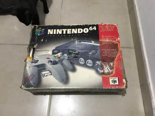 Nintendo 64 + Pokemon Stadium En Caja Vendo O Permuto 0