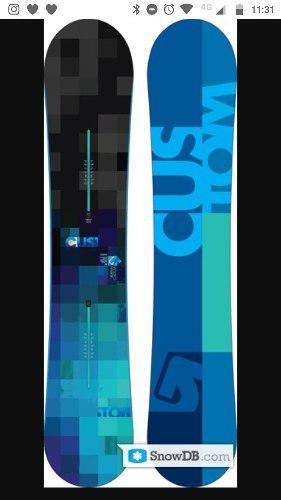 Tabla Snowboard Burton Custom 1,56 Est 0