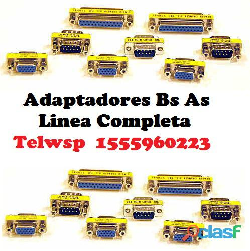 Bracket Puerto Serial DB9 RS232 Simple y Doble CABA 5