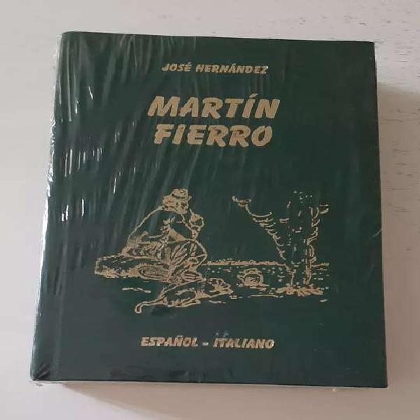MARTIN FIERRO- de José Hernández ( ESPAÑOL-ITALIANO) 0