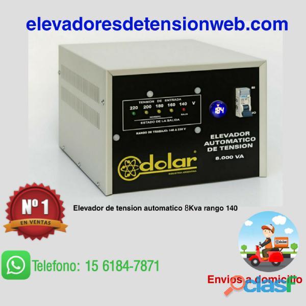 Estabilizador elevador tension automatico 8 kva con corte