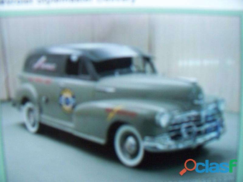 Manual de guantera chevrolet flettmaster & coupe stylmaster 1947