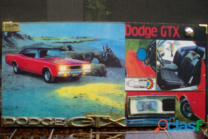 * MUNDO DODGE * AUTOPARTES & ACCESORIOS GTX / RT * 2