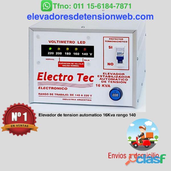 Elevador de Tensión Automático | 63A | 16000 Watts 16Kva