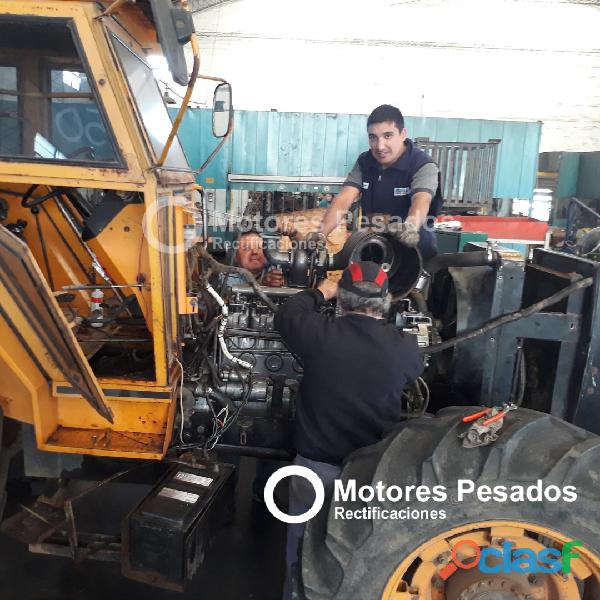 Taller mecanico integral para tractores
