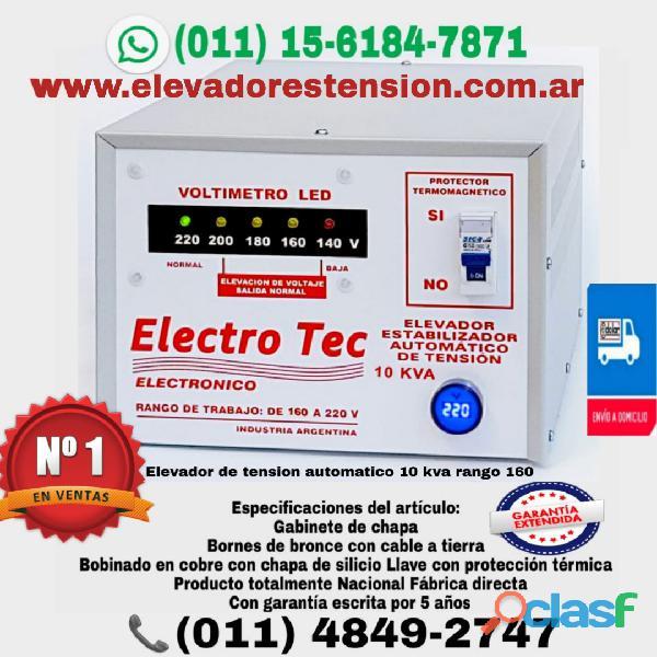 Elevador de tensión de 10 kva o 10000 watts 40a