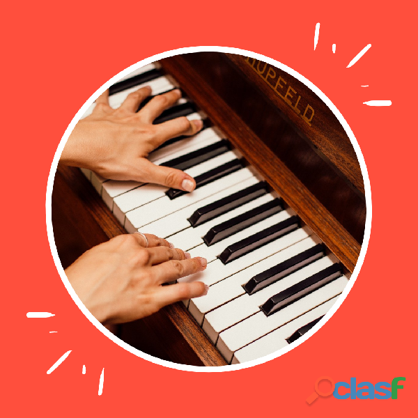 Clases de piano para los mas chicos en villa del parque