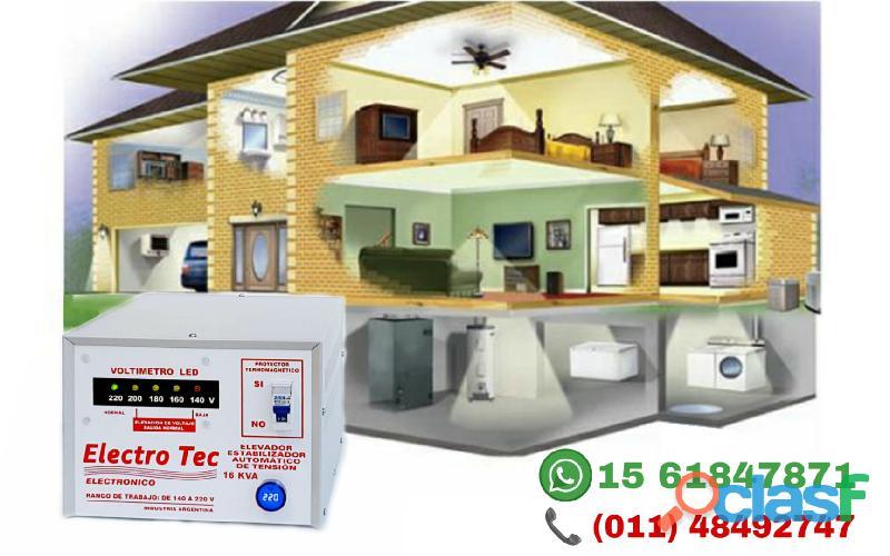 Estabilizadores de Tensión para Casas | Merlo Moreno 2