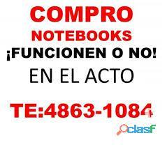 COMPRO NOTEBOOKS rotas O NO TE:4863 1084