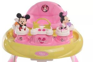 Andador bebe musical disney minnie mickey reforzado