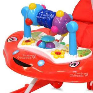 Andador caminador bandeja de juegos musical dia del niño