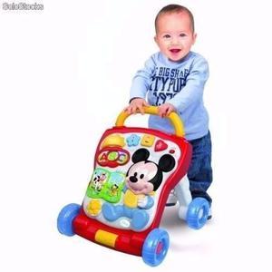 Andador caminador bebe musical juegos minnie mickey disney
