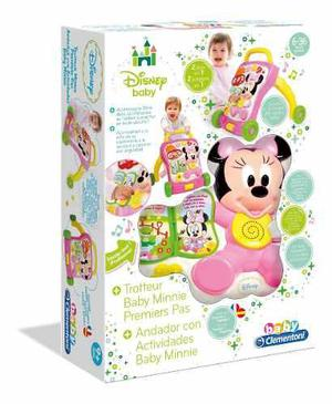 Andador minnie mickey para niños disney con actividades