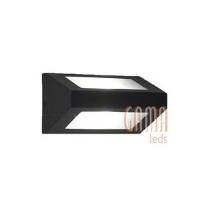 Pack 6 apliques bidireccionales pared exterior 1 luz hierro