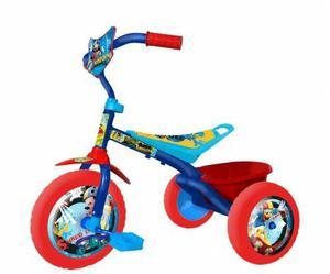Triciclo infantil disney mid mickey minnie princesas unibike