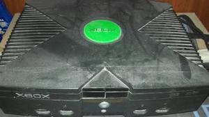Xbox para repuesto con 4 juegos 100% originales