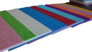 6735e32ee8e Goma eva super glitter (con brillo) 40 x 60 x 10 unidades en Lomas ...