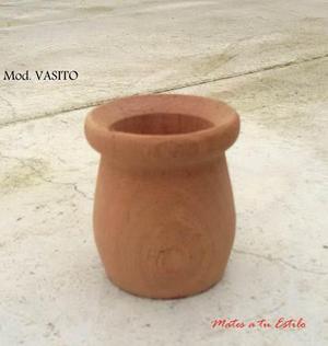 Lote mates madera virgen copita vasito sin barniz por mayor