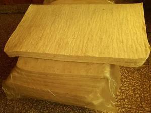 Mandil de lana mezcla blanco basto apero recado montura