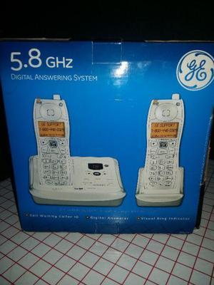 Telefono inalambrico duo con contestador automático digital