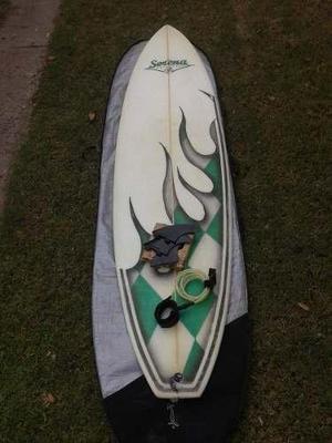 Tabla De Surf Funboard Serena 7'