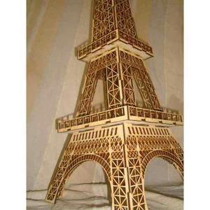 Torre eiffel 64 cm de altura fibrofacil mdf somos fabrica !!