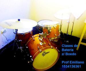 Clases de batería zona boedo / san cristóbal / pque