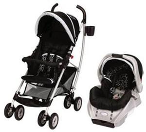af6ddd742 Coche travel system para bebés graco mosaic c/ huevito