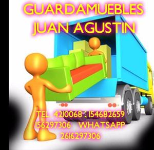 Guardamuebles juan agustin tel. 4210068 154682659
