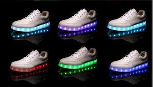 Zapatillas con luces.11leds