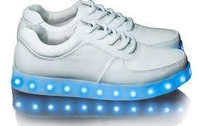 Zapatillas led blancas 33 al 36