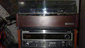 Bandeja y radio audinac