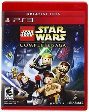 Lego star wars the complete saga ps3 nuevo sellado fisico