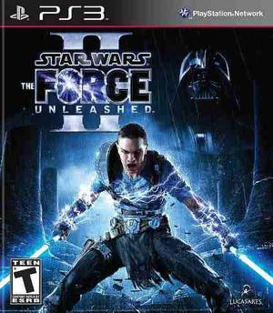 Star wars the force unleashed 2 ps3 entrega inmedita